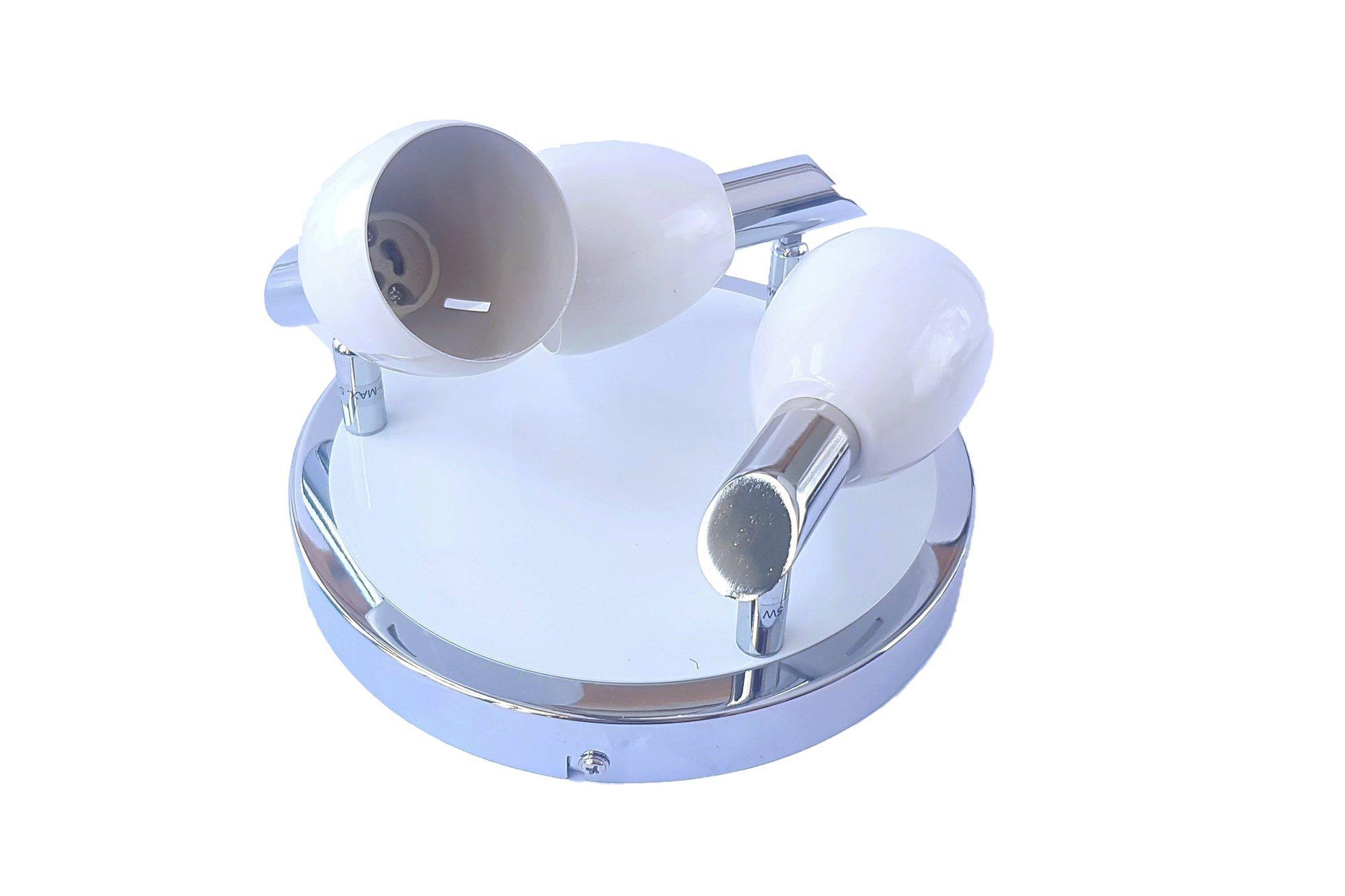 Briloner Spotlight 3408-036 LED Ceiling GU10 Chrome White