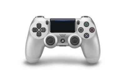 Controller Gamepad Playstation 4 PS4 v2 Silver