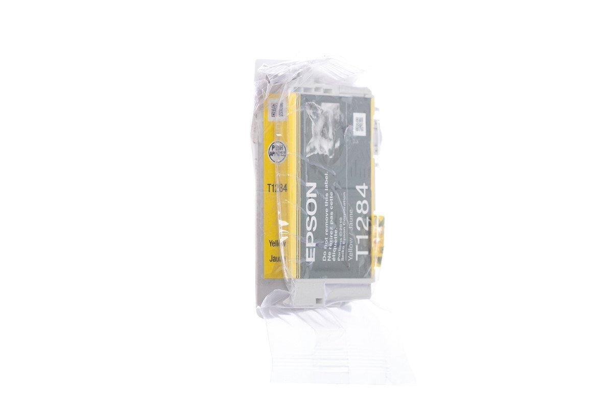Genuine Ink Cartridge Epson T1284 C13T12844011 Yellow