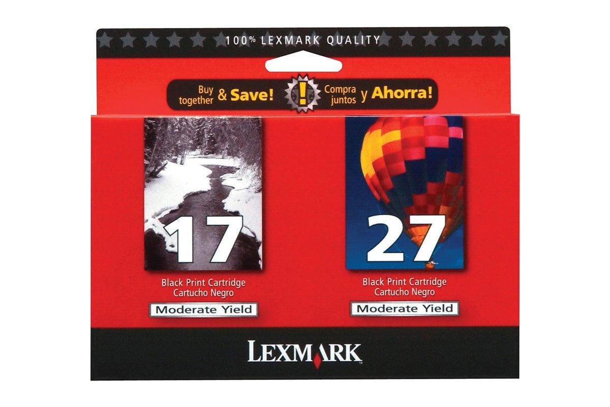 Genuine Ink Cartridge Lexmark 17+27 80D2951BL Black/Color