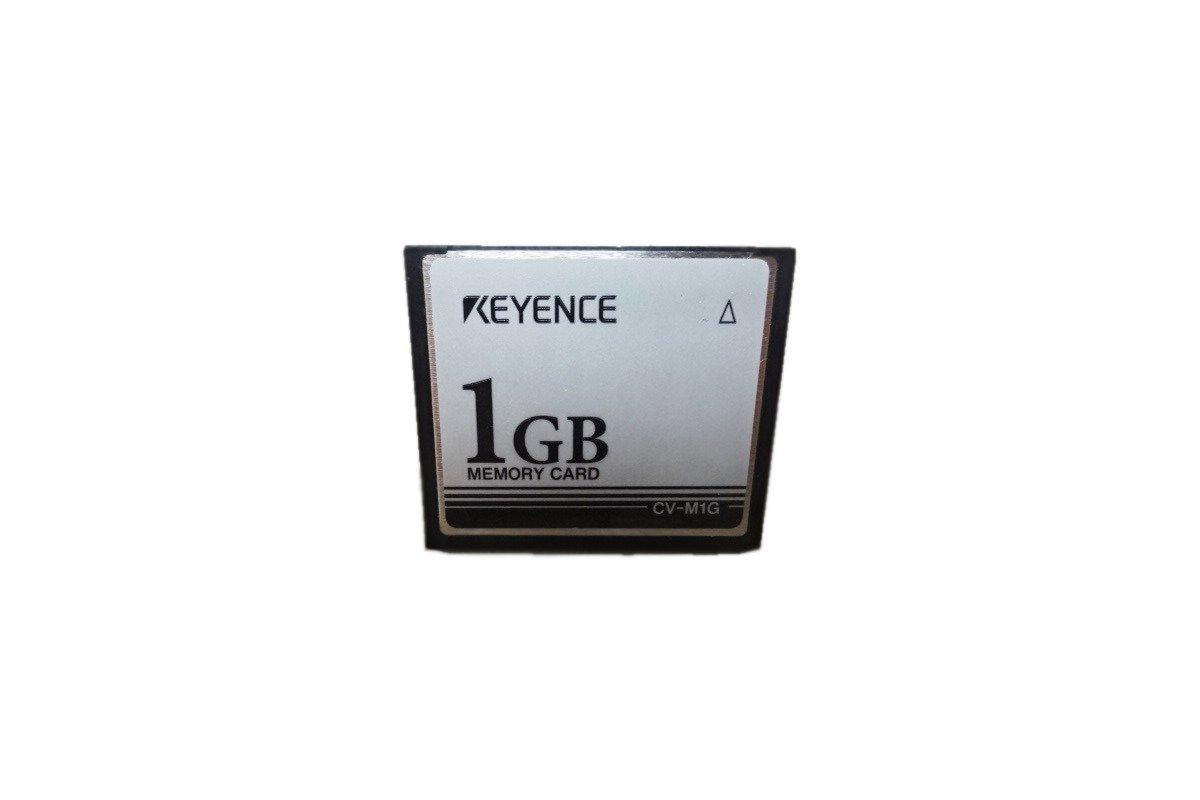 Keyence Compact Flash Card 1 GB (Industrial Specification) CV-M1G