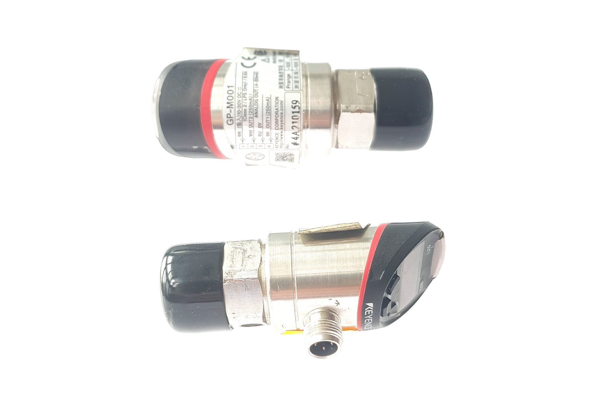 Keyence Heavy Duty Type Digital Pressure Sensor GP-M001