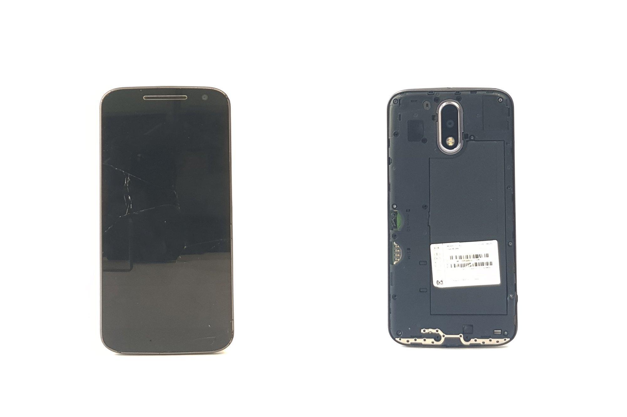 Lenovo Motorola Moto G4 16GB Black XT1622 Damaged