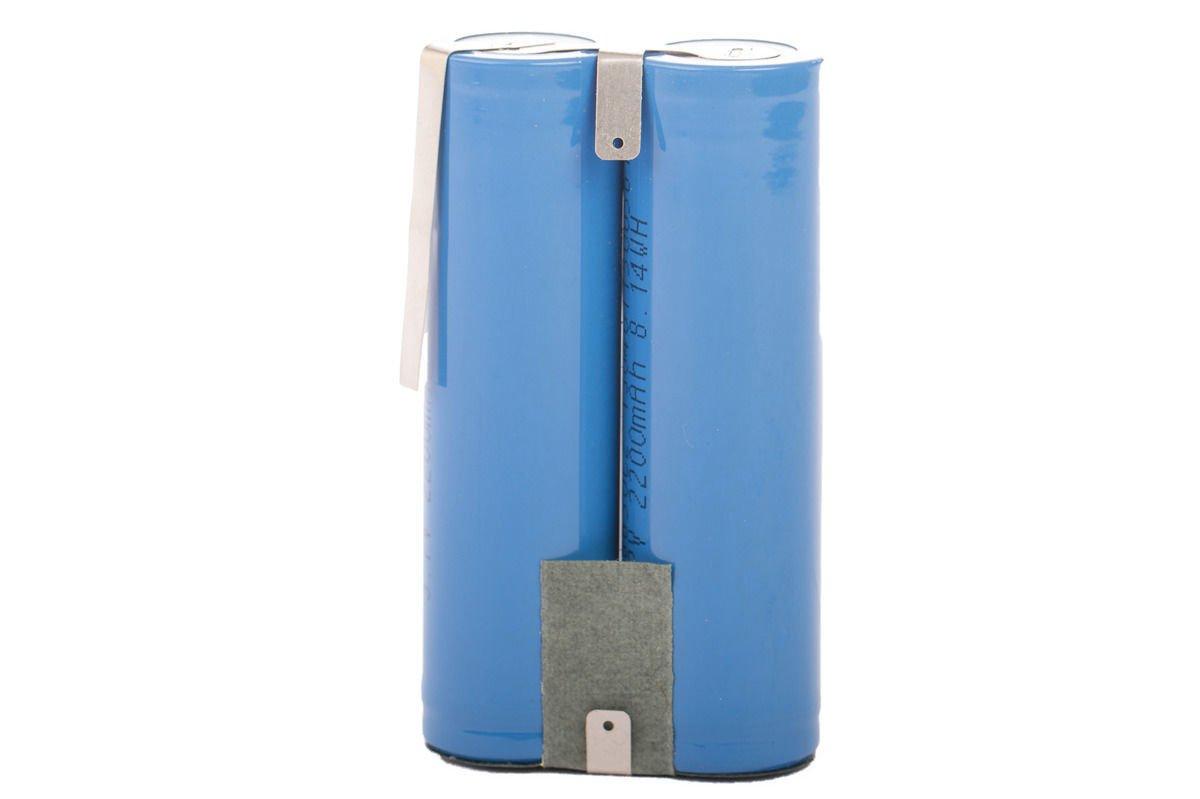 Lithium Ion Battery pack 4400 mAh 2x 2200 mAh 3.7V Akku