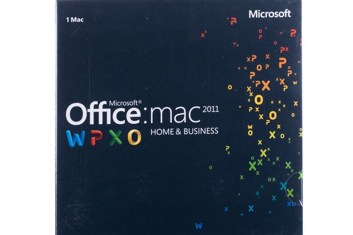 Microsoft Office Home&Business 2011 Mac W6F-00213 English Middle East EM