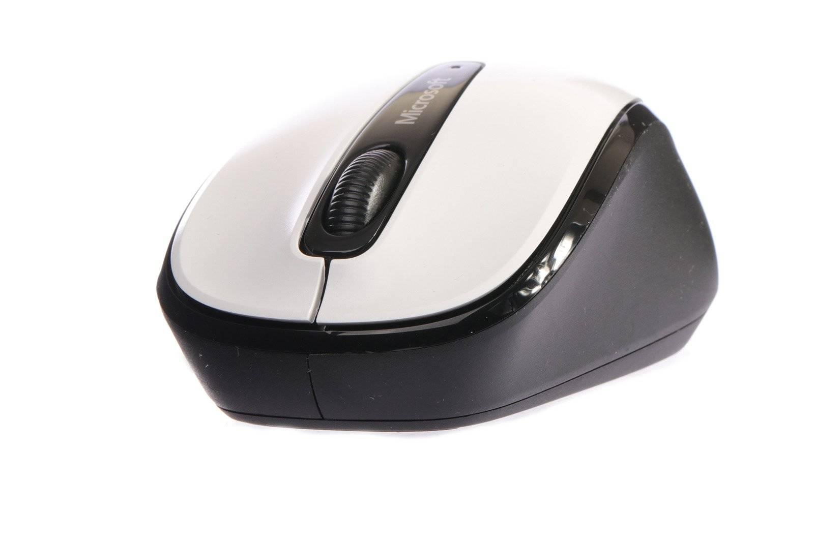 Mouse Microsoft Wireless Mobile 3500 White