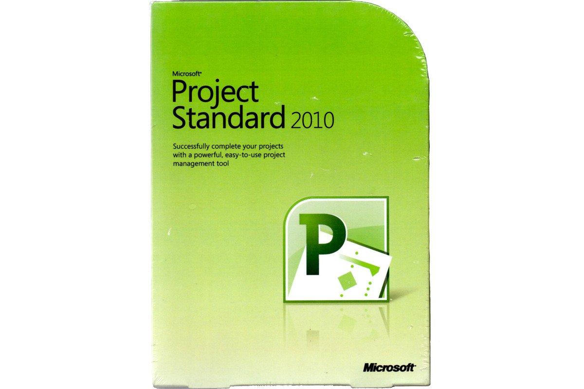 New Sealed Box Microsoft Project 2010 DVD 076-04529 English NON EU / EFTA 1PC