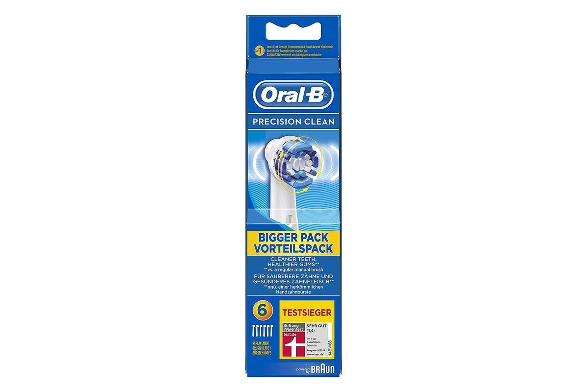 Oral-B 6x Replacement Brush Heads Precision Clean 64703708
