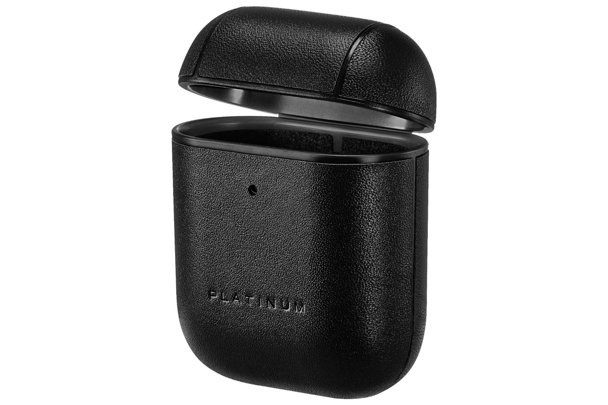 Platinum Apple AirPods 1/2 Case Black