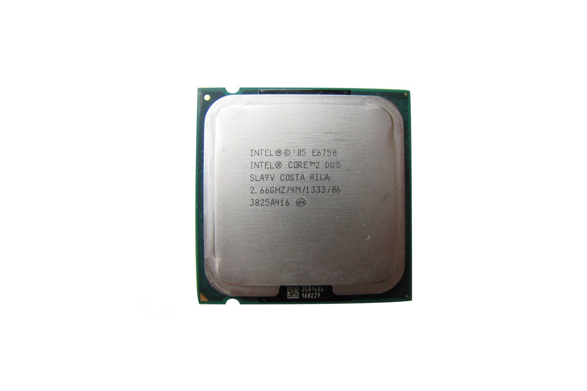 Processor Intel Core 2 Duo E6750 2.66GHz 4MB PLGA775