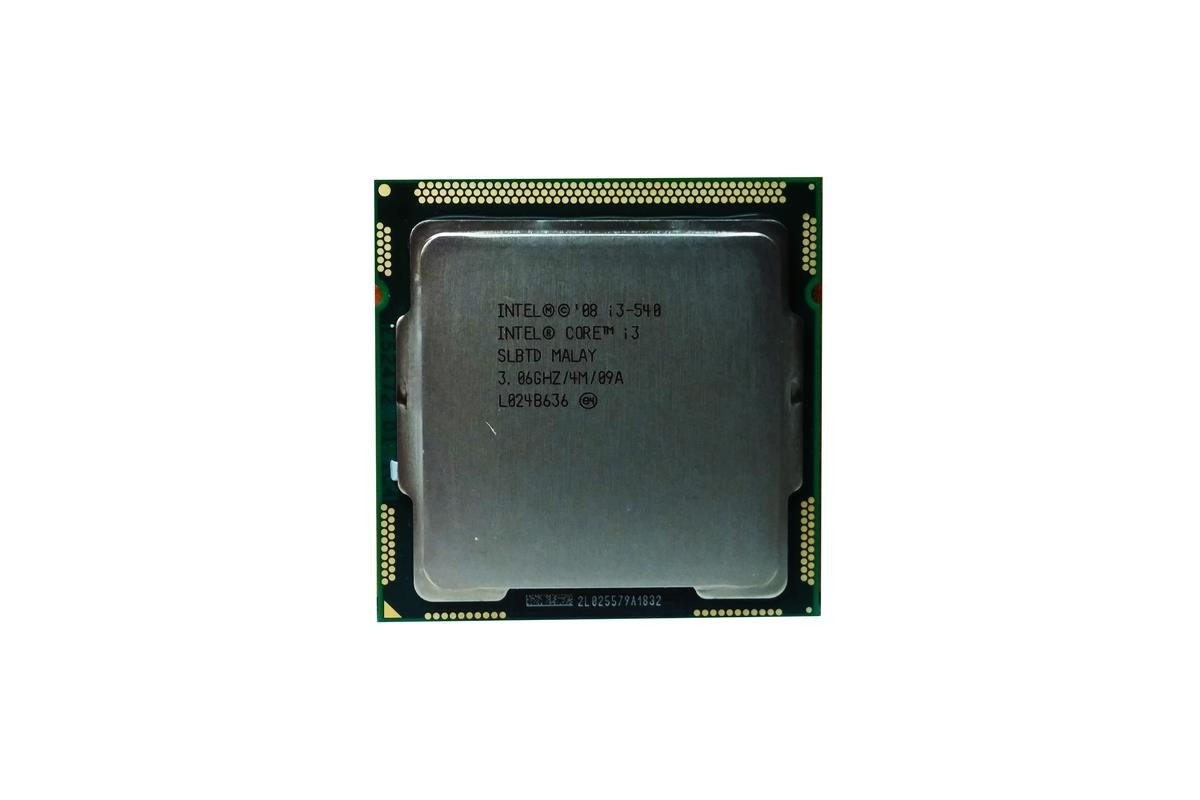 Processor Intel Core i3 540 3.06GHz 4MB FCLGA1156
