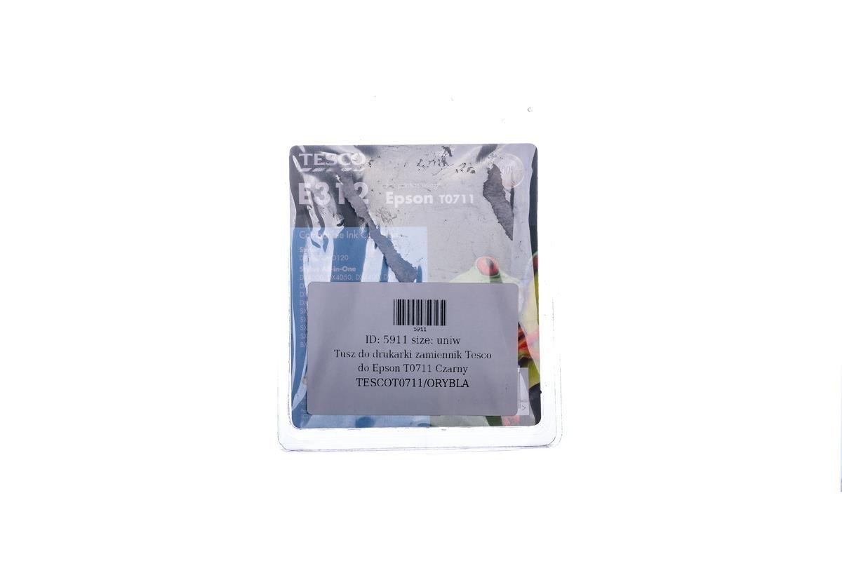 Remanufactured Ink cartridge Tesco Epson T0711 Black
