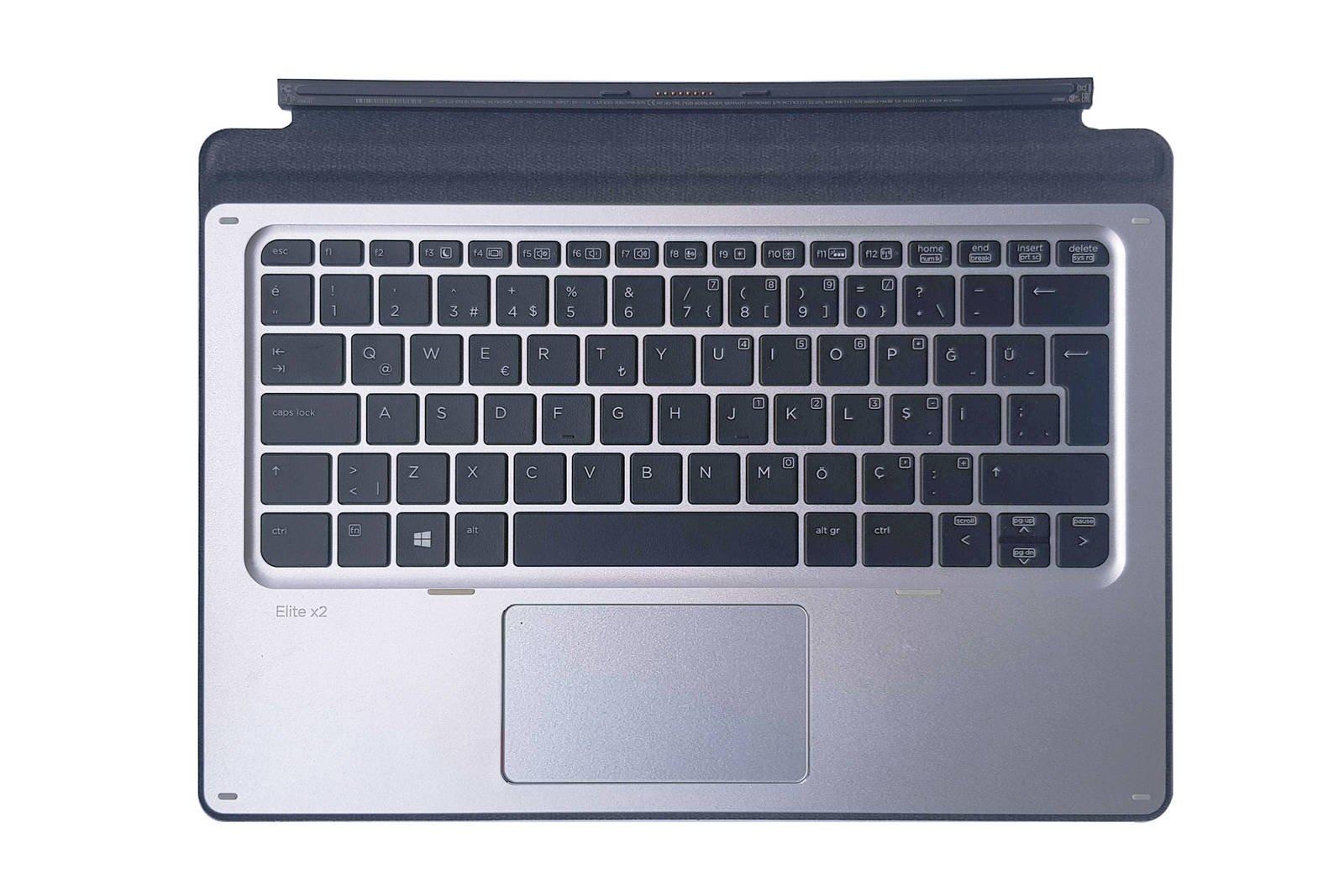 HP Elite x2 1012 G1 Travel Keyboard HSTNN-D72K Turkish