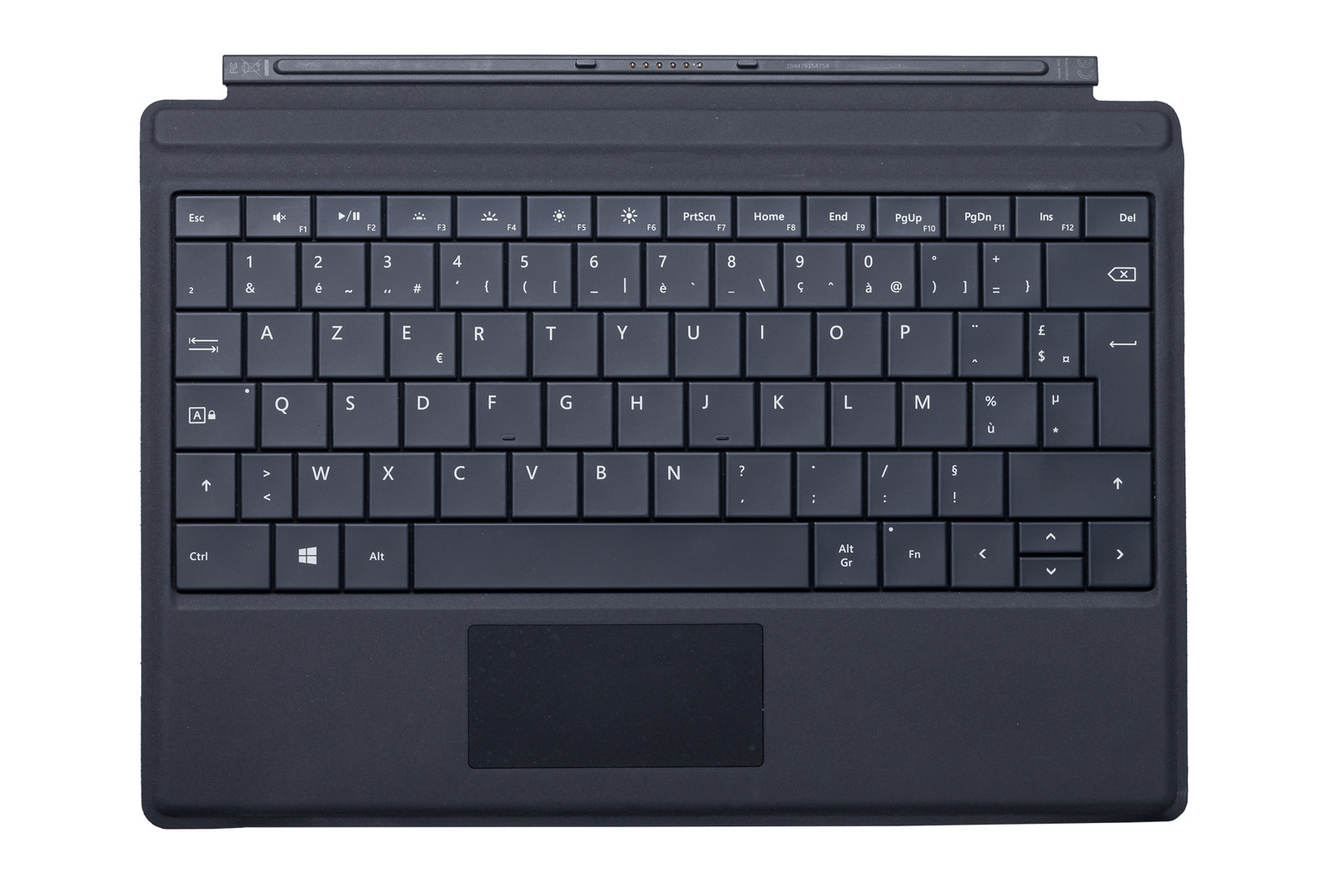 Keyboard Microsoft Surface Type Cover 3 Black AZERTY (French) Grade B