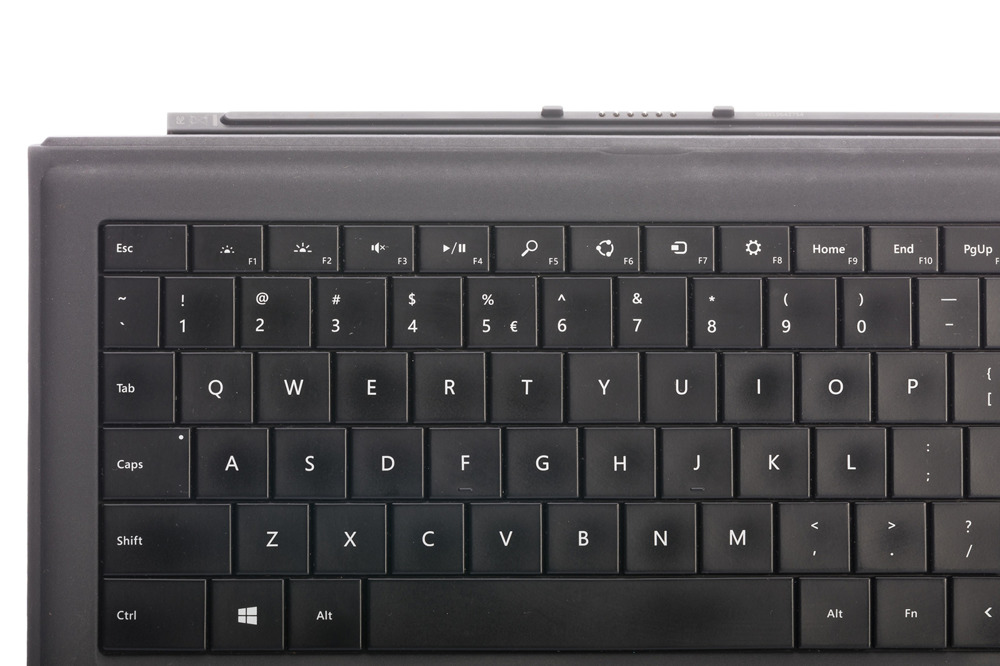 Keyboard Microsoft Surface Type Cover Pro 3 Black QWERTY (US/UK104) Grade B