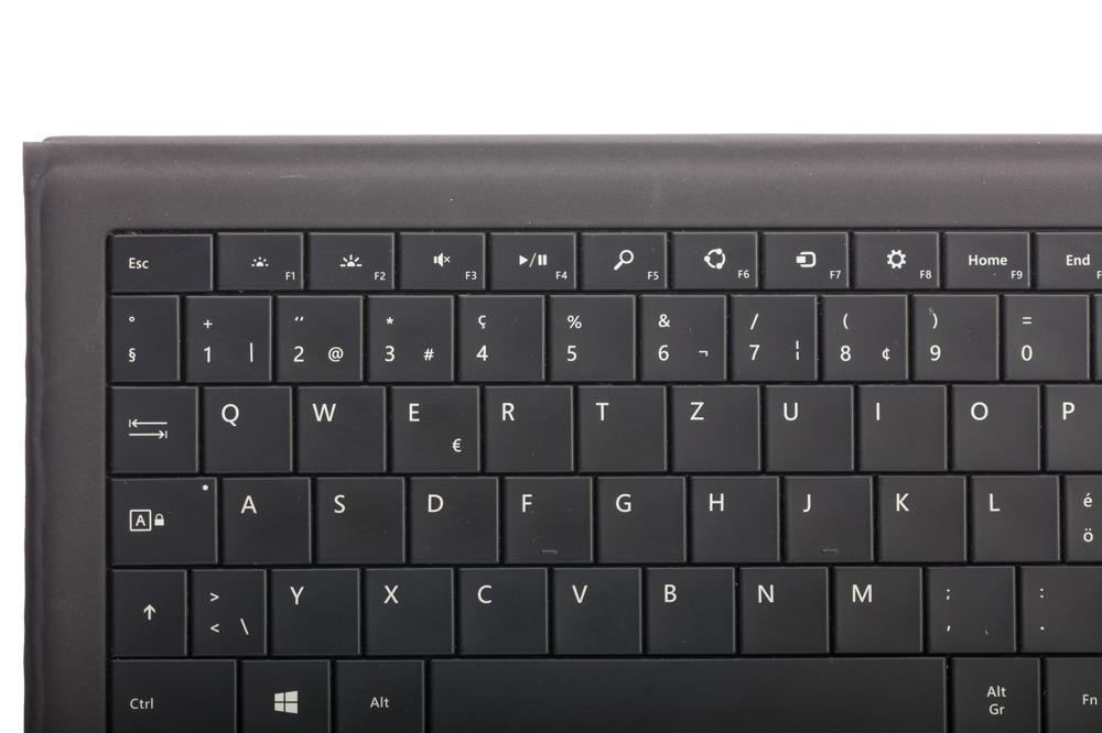 Keyboard Microsoft Surface Type Cover Pro 3 Black QWERTZ (Swiss) Grade B