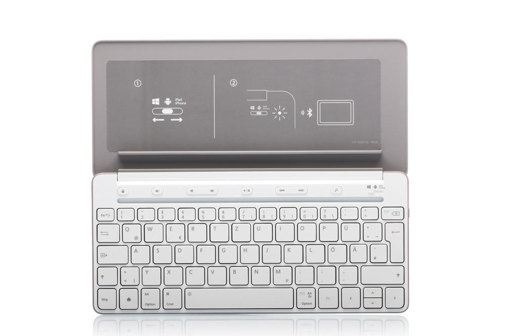 Keyboard Microsoft Universal Mobile (German) P2Z-00036 Grey QWERTZ