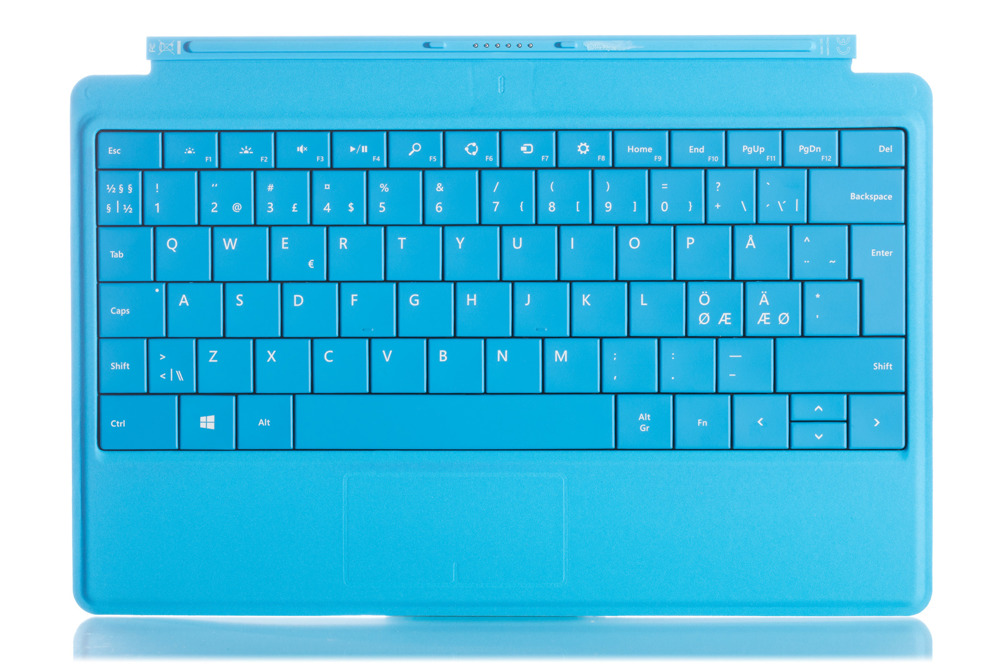 Keyboard Surface Type Cover 2 Cyan Grade A (Nordic)