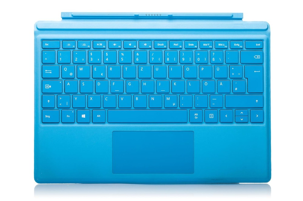 Keyboard Surface Type Cover Pro 4 Cyan Grade B (German)