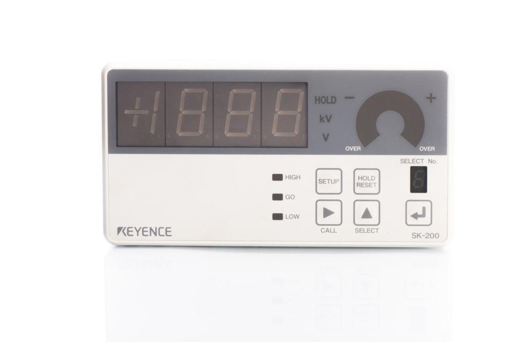 Keyence Amplifier for Electrostatic Sensor Unit SK-200