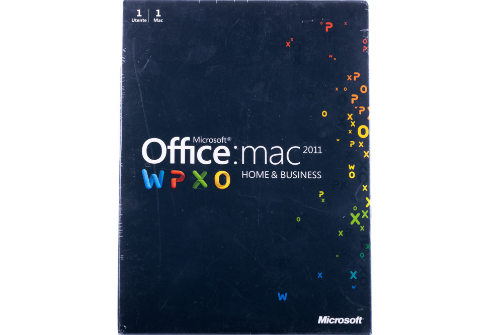 Microsoft Office 2011 Mac Home & Business (W6F-00192) BOX EUROZONE Medialess NO