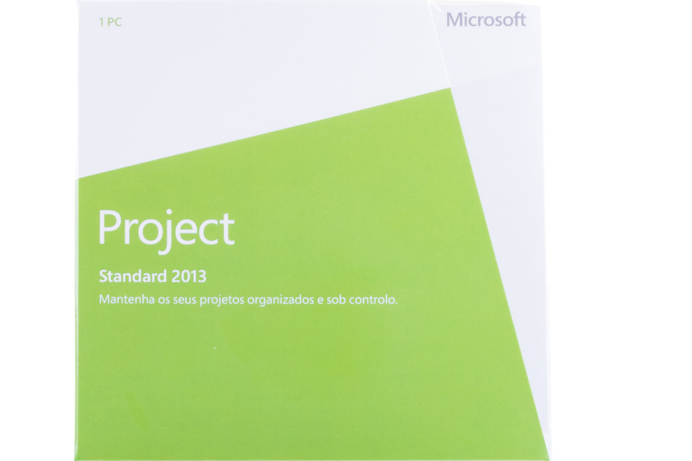 New Genuine Microsoft Project 2013 076-05251 Portuguese Africa Only DVD BOX