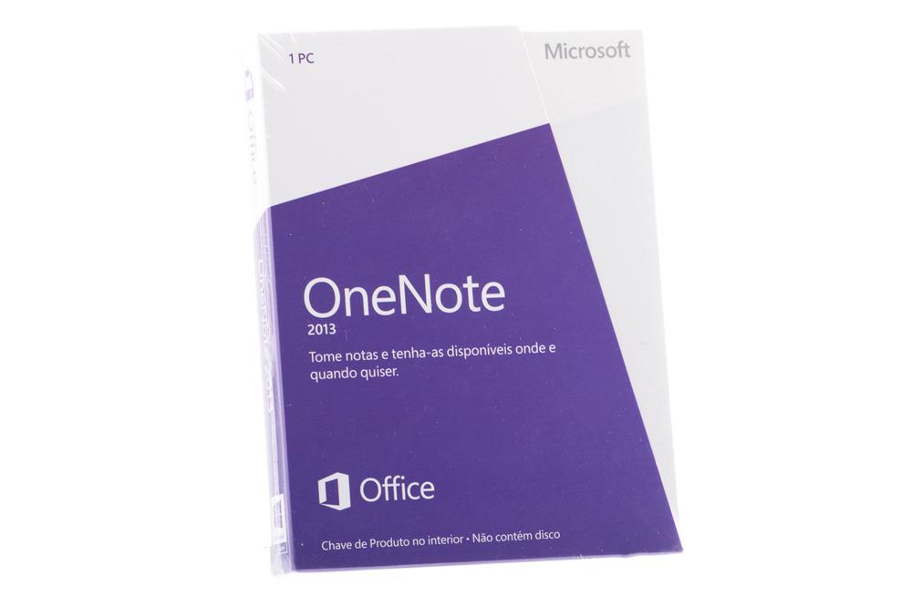 New Sealed Original Microsoft OneNote 2013 S26-05099 Medialess Eurozone