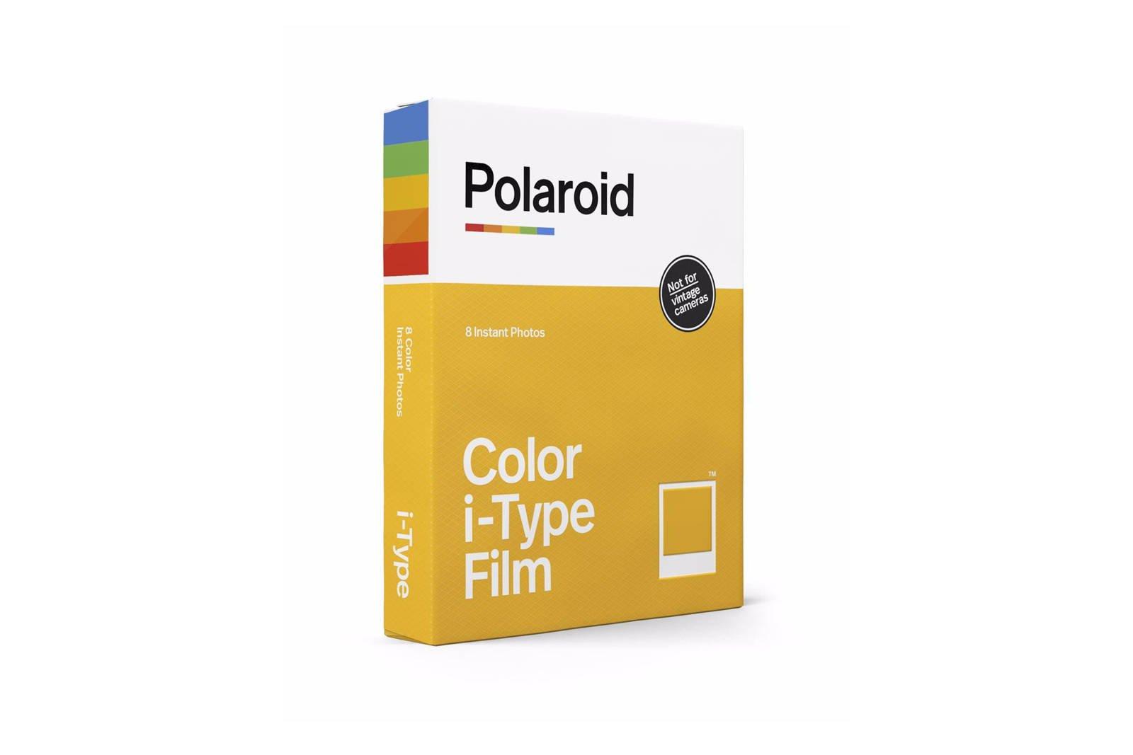 Polaroid Color i-Type Film 8 Instant Photos PRD006000